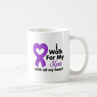 Epilepsy I Walk For My Hero Mugs