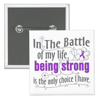 Epilepsy In The Battle 15 Cm Square Badge