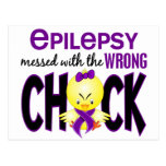 Epilepsy Messed With The Wrong Chick