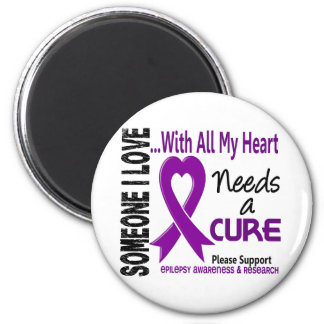 Epilepsy Needs A Cure 3 Magnet