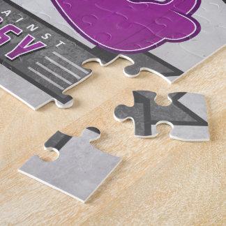 Epilepsy - Retro Charity Ribbon - Puzzle
