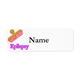 Epilepsy Return Address Label