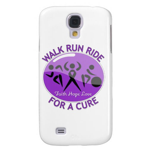 Epilepsy Walk Run Ride For A Cure Samsung Galaxy S4 Cover