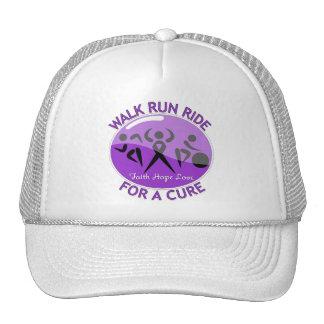 Epilepsy Walk Run Ride For A Cure Trucker Hats