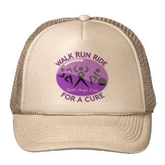 Epilepsy Walk Run Ride For A Cure Trucker Hat