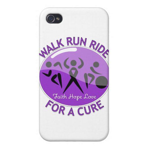 Epilepsy Walk Run Ride For A Cure Covers For iPhone 4
