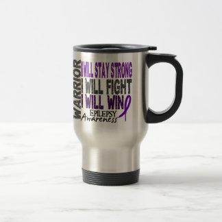 Epilepsy Warrior Travel Mug
