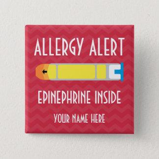Epinephrine Allergy Alert Button