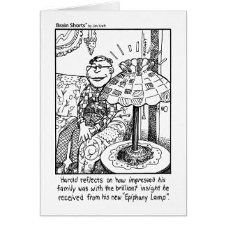 Epiphany Lamp by Jim Kraft Cards