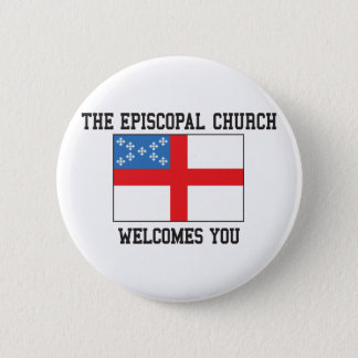 Episcopal Church 6 Cm Round Badge