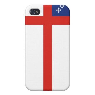episcopal flag church religion cross god case for iPhone 4