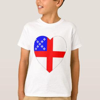 Episcopal Flag Heart Shirts