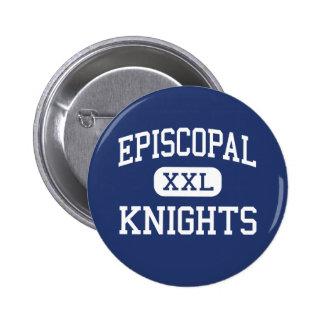 Episcopal - Knights - High School - Bellaire Texas 6 Cm Round Badge