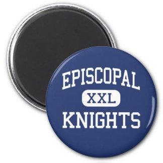 Episcopal - Knights - High School - Bellaire Texas 6 Cm Round Magnet
