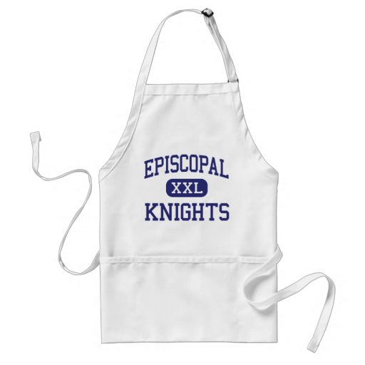 Episcopal - Knights - High School - Bellaire Texas Apron