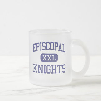 Episcopal - Knights - High School - Bellaire Texas Frosted Glass Mug