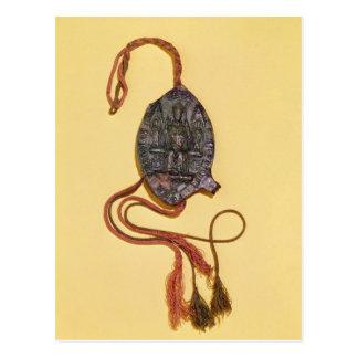 Episcopal seal belonging to Anthony Beck Postcard