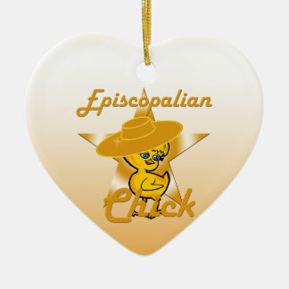 Episcopalian Chick #10 Christmas Ornament
