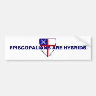 EPISCOPALIANS ARE HYBRIDS BUMPER STICKER