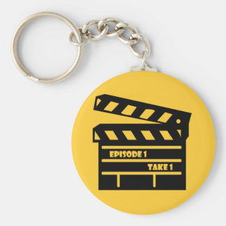 Episode Basic Round Button Key Ring