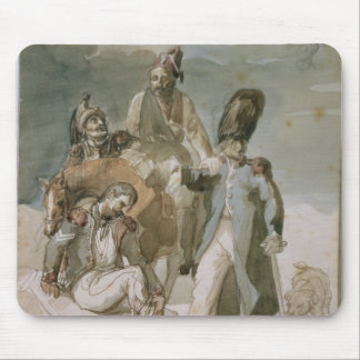 Episode from Napoleon's Retreat Mouse Pad