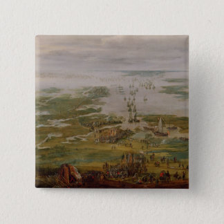Episode from the Dutch Wars 15 Cm Square Badge