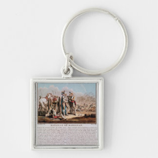 Episode of the Battle of Marignan Key Ring