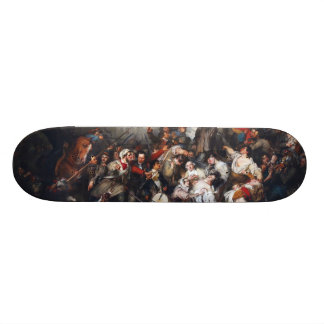 Episode of the September Days by Gustave Wappers Custom Skate Board