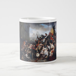 Episode of the September Days by Gustave Wappers Extra Large Mug