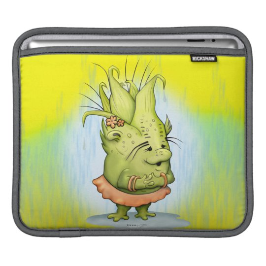 EPIZELLE ALIEN CARTOON iPad H iPad Sleeve