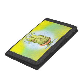 EPIZELLE ALIEN  CARTOON TriFold Nylon Wallet