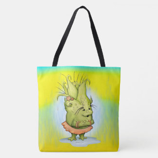 EPIZELLE  CARTOON All-Over-Print Tote Bag Large