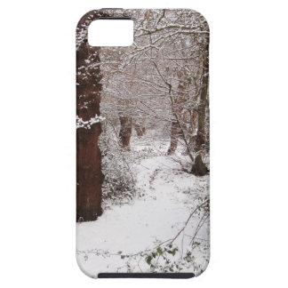 Epping Forest in the snow. iPhone 5 Cover