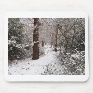 Epping Forest in the snow. Mouse Pad