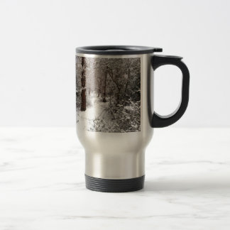 Epping Forest in the snow. Travel Mug