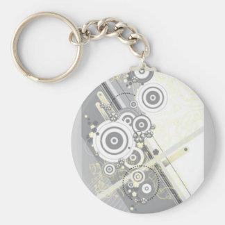 EPS_cd0004_00010 Basic Round Button Key Ring