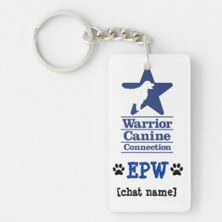 EPW personalized keychain Rectangle Acrylic Key Chain