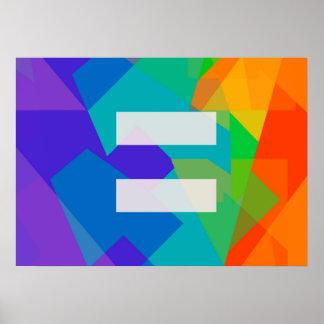 Equal (LGBT) Poster