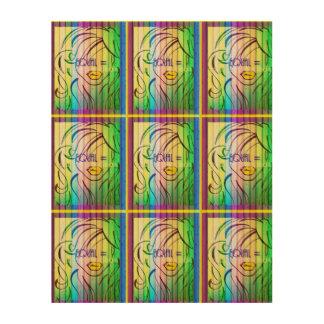 Equal Right Rainbow Wall Art
