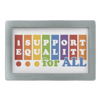 Equal Rights belt buckle