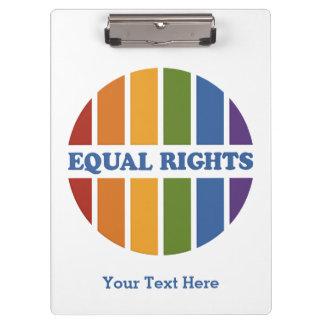 Equal Rights custom clipboard