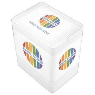 Equal Rights custom cooler Igloo Cooler
