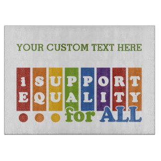 Equal Rights custom cutting board