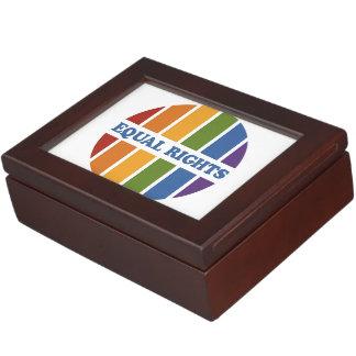 Equal Rights custom keepsake box