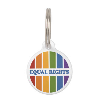 Equal Rights custom pet tags