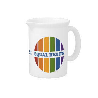 Equal Rights custom pitcher
