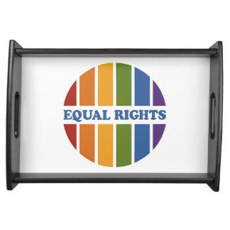 Equal Rights custom serving tray