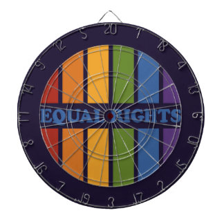 Equal Rights dart board