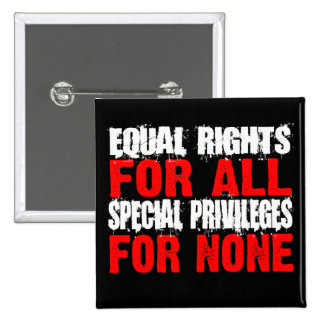 Equal Rights For All Button