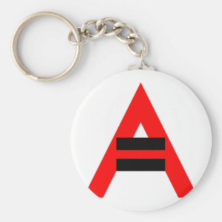 Equal Rights for Atheists (Black) Key Ring